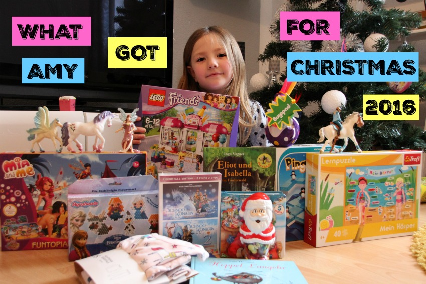 What Amy got for Christmas 2016 (video)