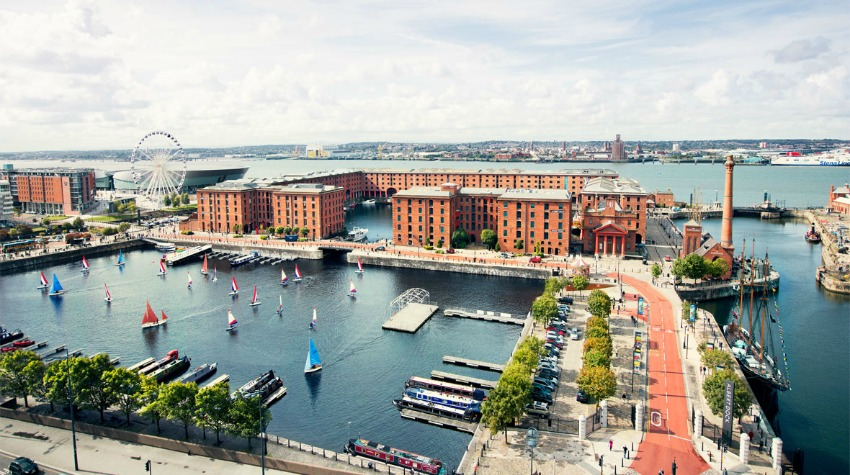 Liverpool for families - Visiting Liverpool and things to do with children, Albert Dock