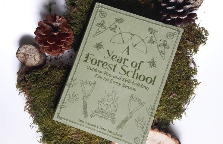 a year of forest school - forest school activities, survival skills and foraging with kids