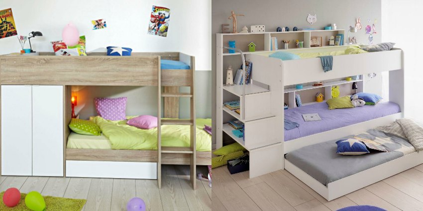 Space-saving ideas for your kid's shared bedroom How to maximise space in a shared bedroom