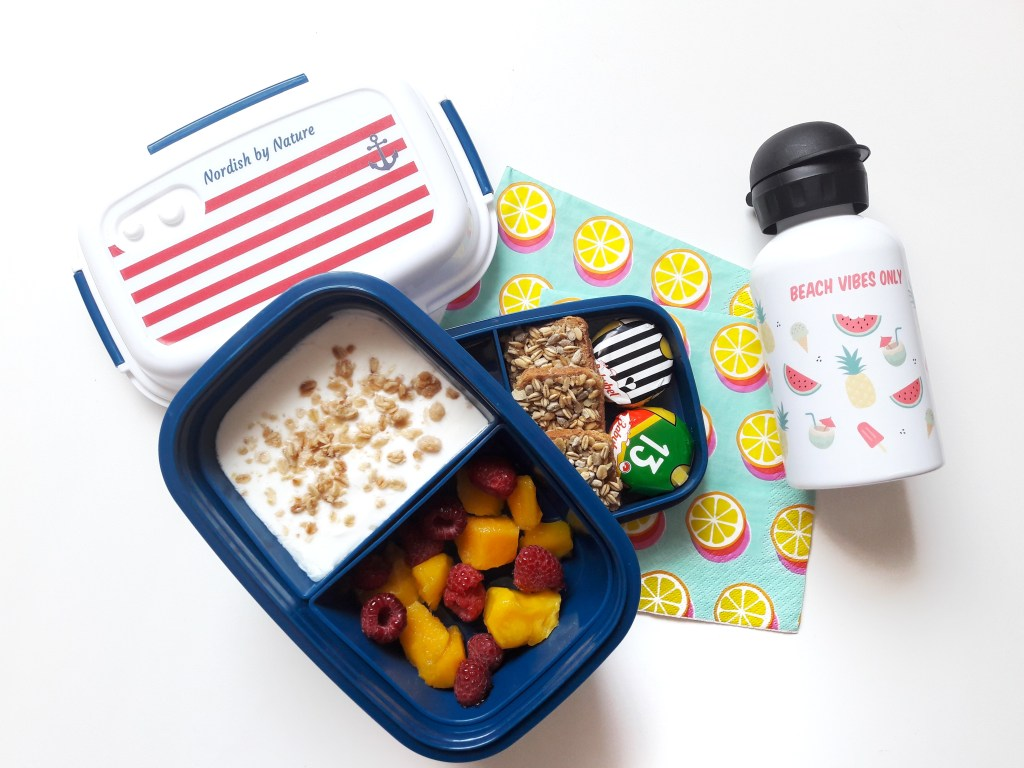Personalised lunch box and water bottle from Petit Fernand (Giveaway)