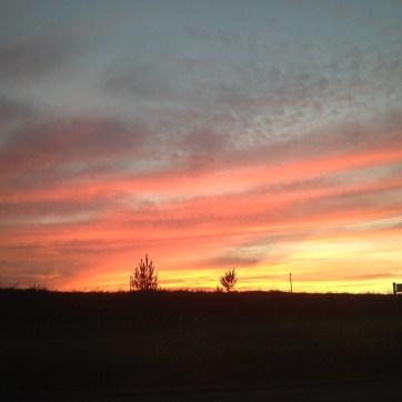Sunset over Fleet