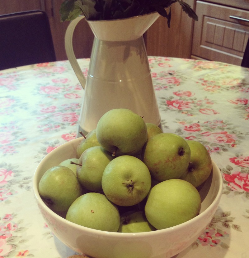 Foraged apples