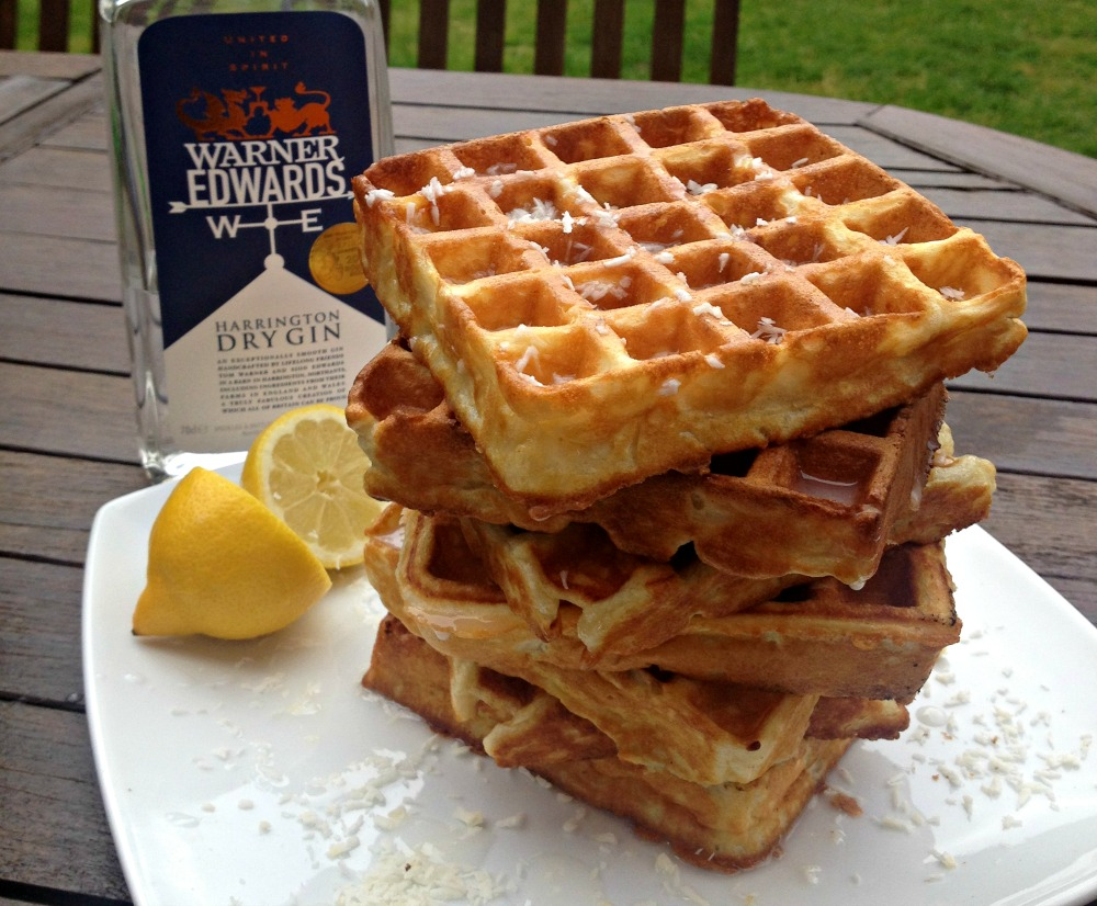 Waffles for World Gin Day