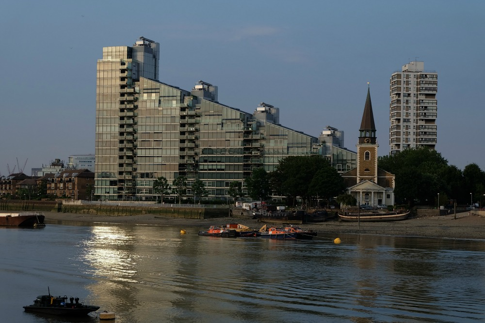 View from Imperial Wharf