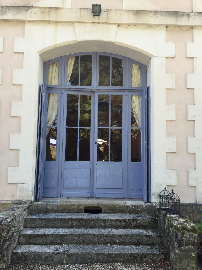 Doors at Chateau De la Chene