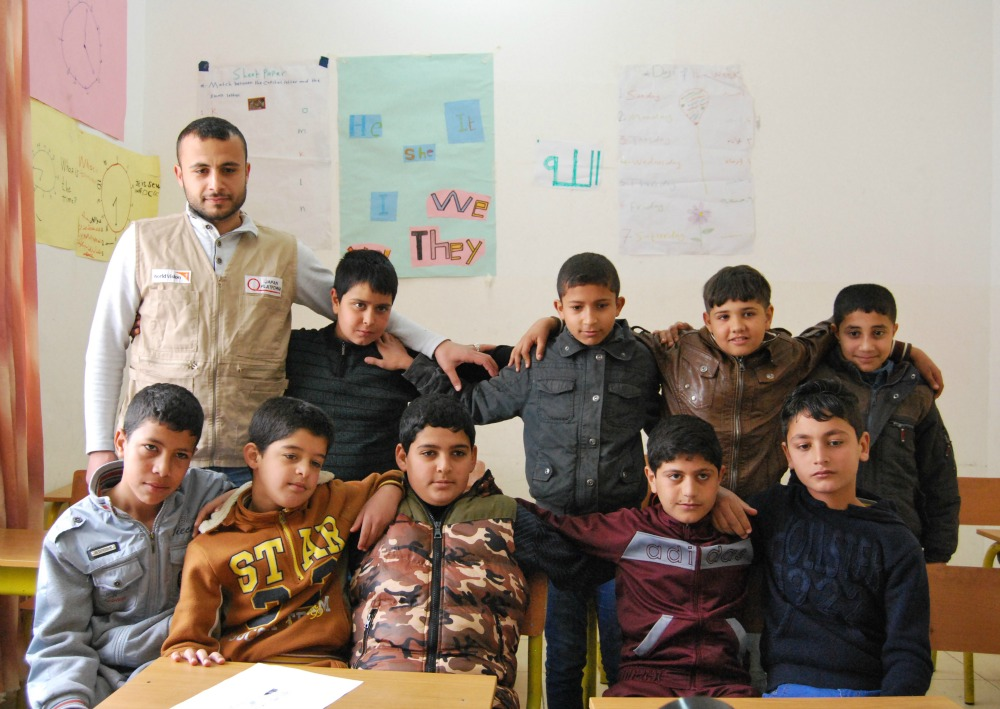 English Class in Irdib