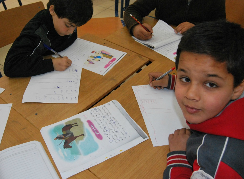 Syrian Refugees education