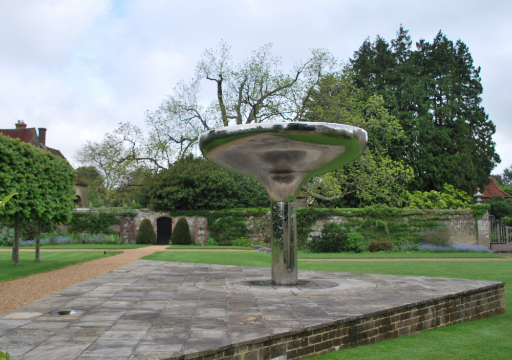 Statue in Woolbeding Manor garden