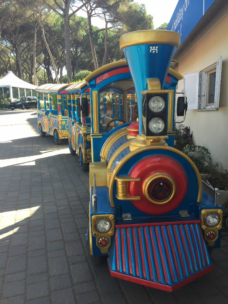 Camping Fabulous Train