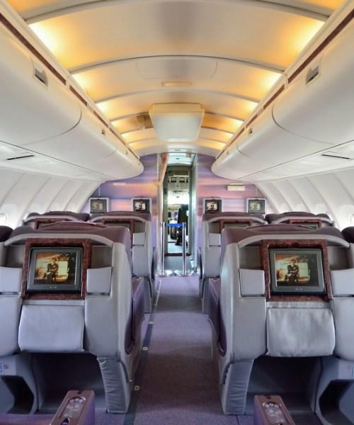 childfree zones on planes