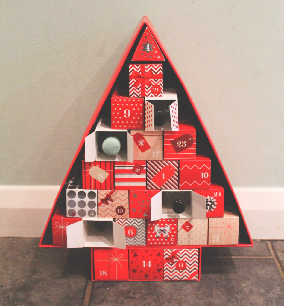 making your own gin advent calendar