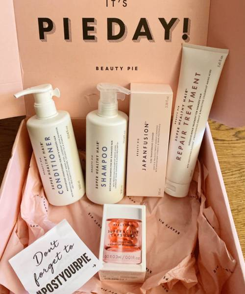 #pieday, Beauty Pie, ShowYourPieDay