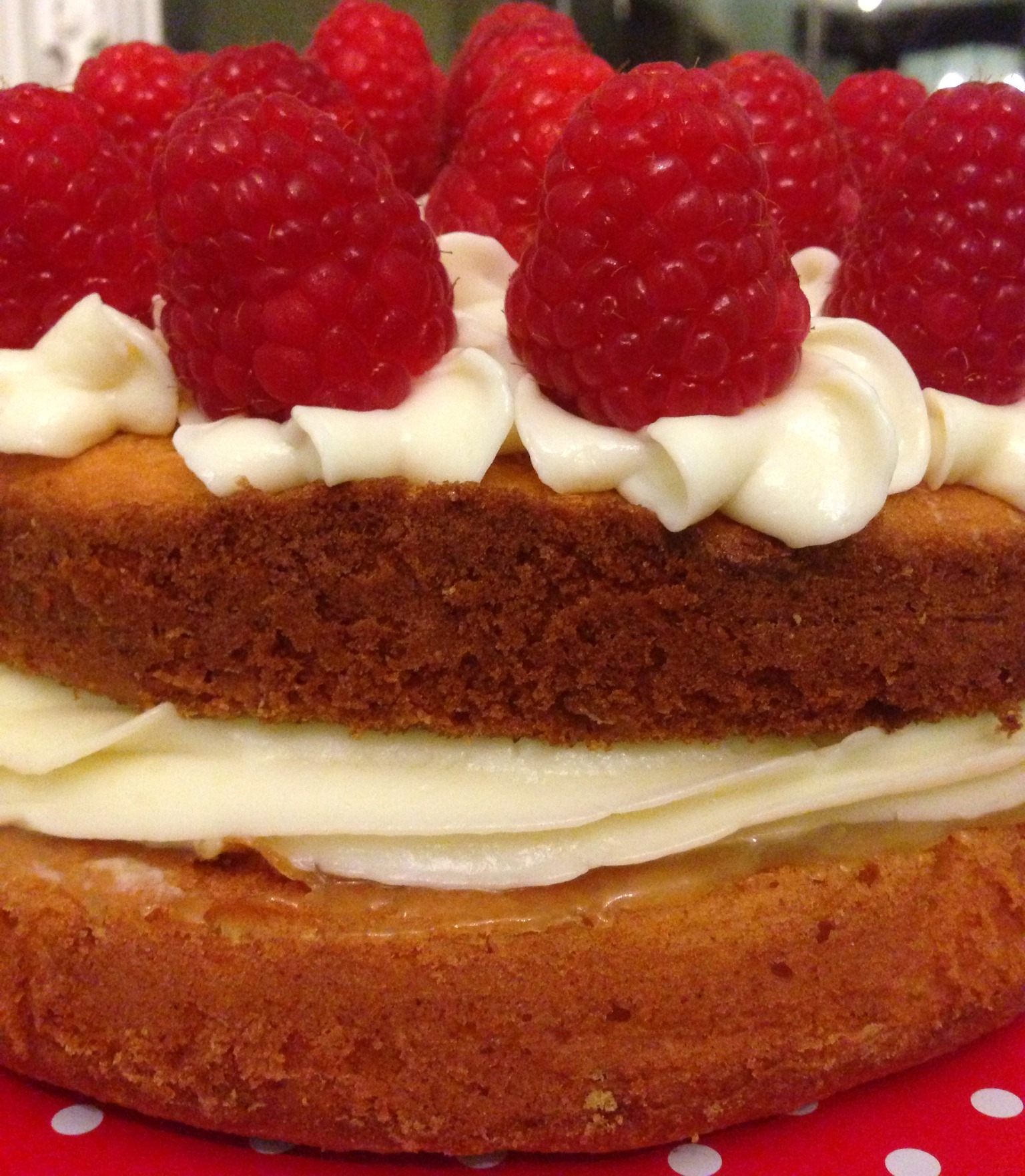 Great British Bake Off Lemon Raspberry Sponge Cake Recipe