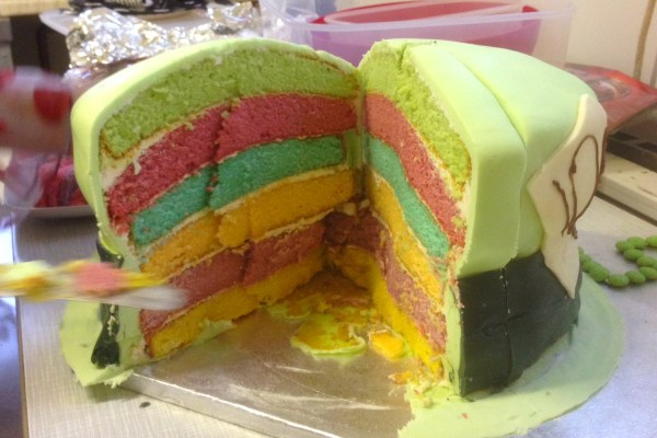 Mad Hatter's Hat Cake