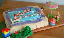 Swimming Pool Cake (#Team Honk Bake Off)