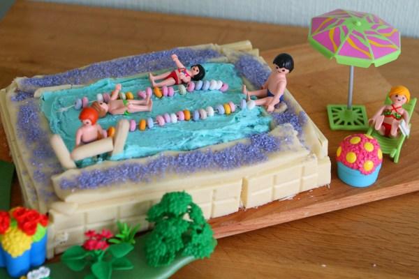 Swimming Pool Cake (#Team Honk Bake Off)