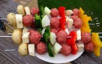 Meatball Kebabs