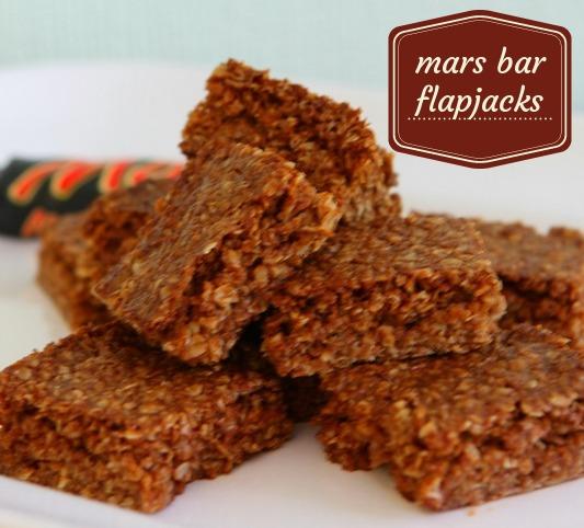 Mars Bar Flapjacks
