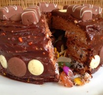 Cadbury's Marvellous Mix Ups Pinata Cake #freethejoy