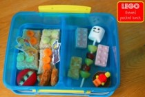 LEGO Themed Packed Lunch