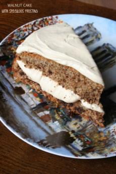 walnut cake - bluebird
