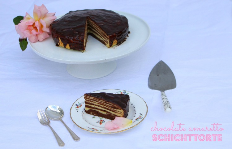 Chocolate Amaretto Schichttorte