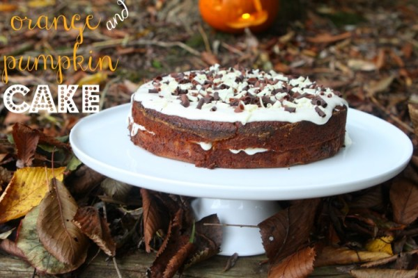 Orange and Pumpkin Cake
