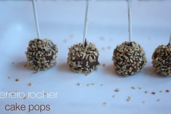 Ferrero Rocher Cake Pops