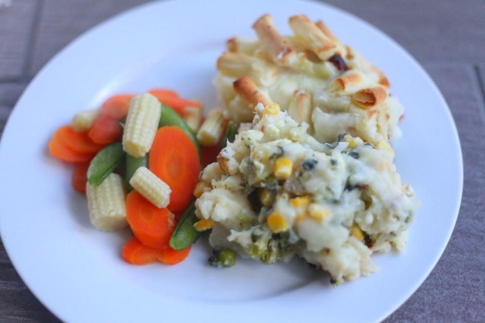 Cauliflower Cheese & Fish Pie