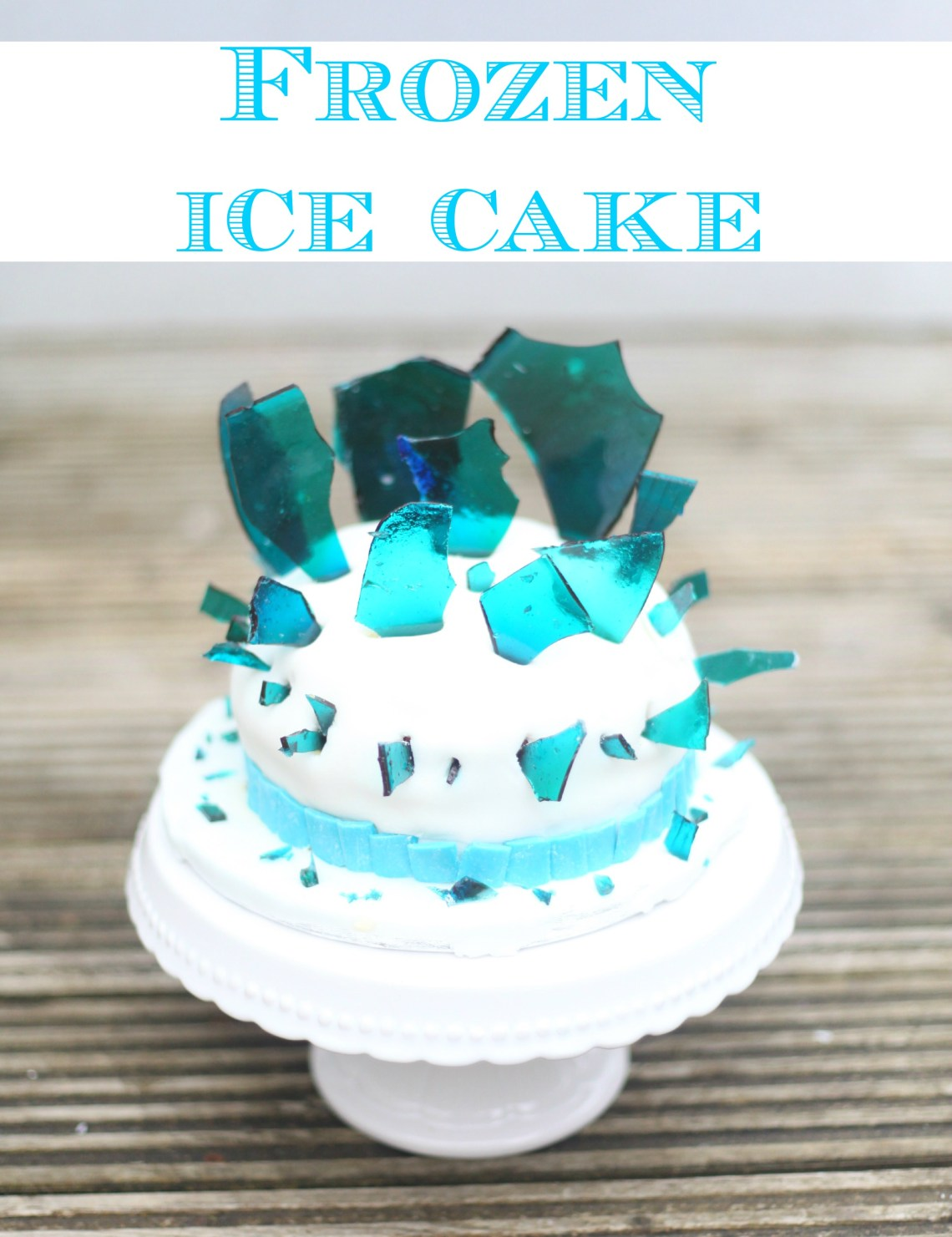 Frozen Ice Cake