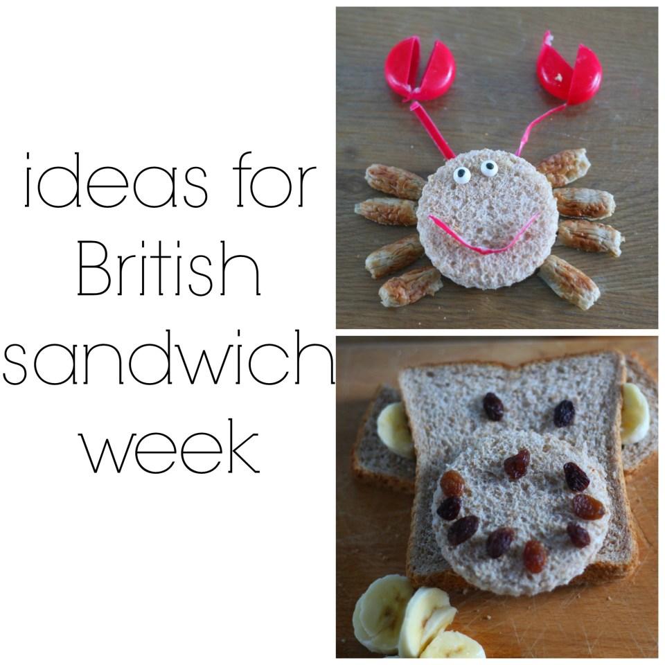 Ideas For British Sandwich Week (10th-17th May, 2015)
