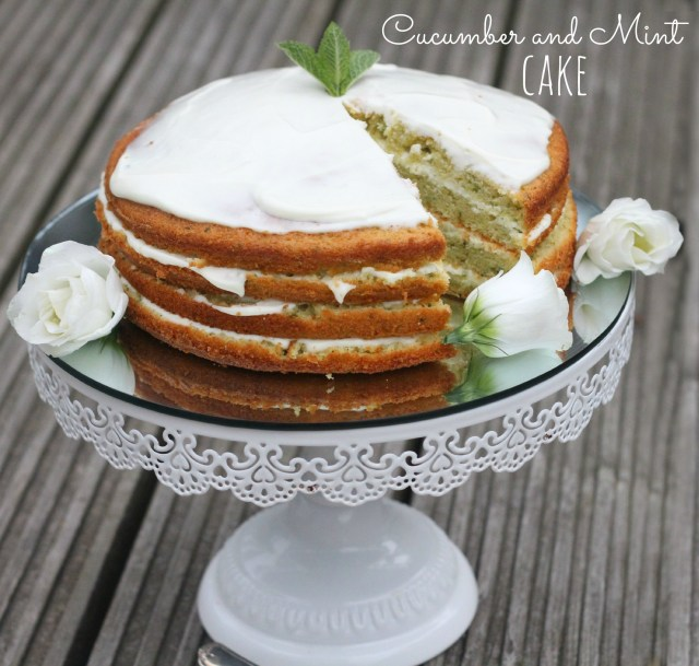 Cucumber and Mint Cake