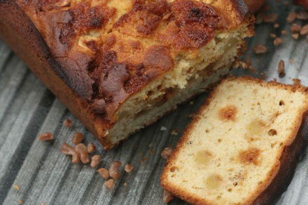 Apple & Butterscotch Loaf Cake