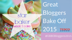GBBO 2015 star baker week 1