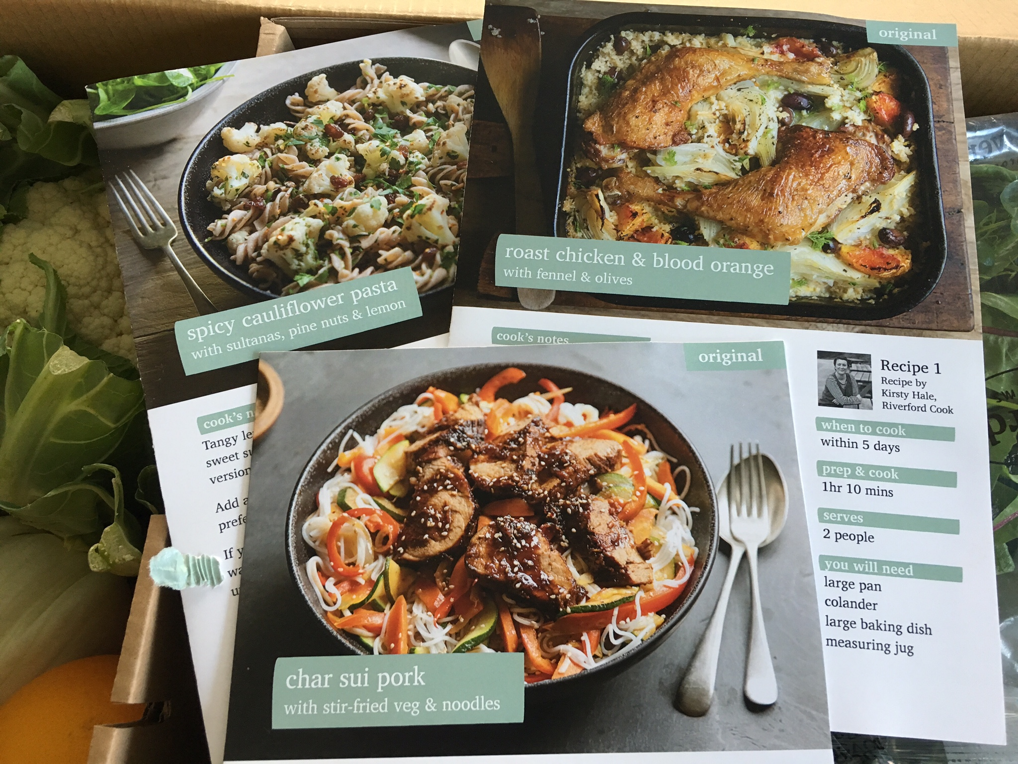 Riverford recipe box review i like the fact that it introduces me to new meals and the chance to try a purely organic menu although my meals never look as forumfinder Gallery