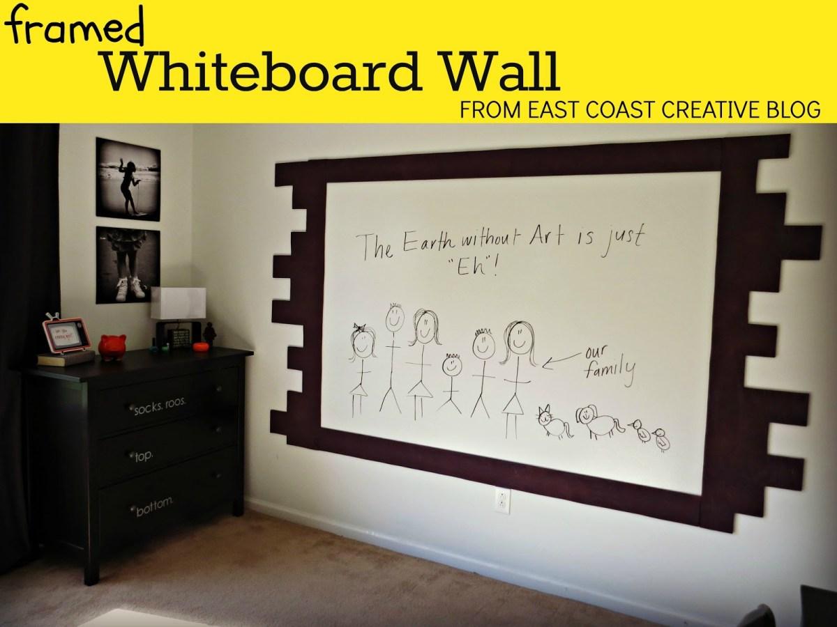 Whiteboard wall beauty shot