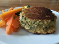 Salmon, Spinach & Feta Cheese Fishcakes