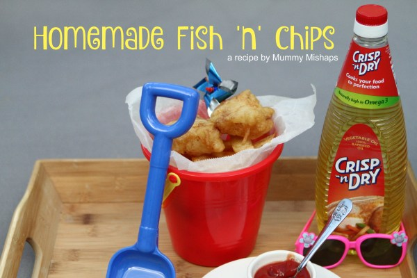 Homemade Fish 'n' Chips (#ad)