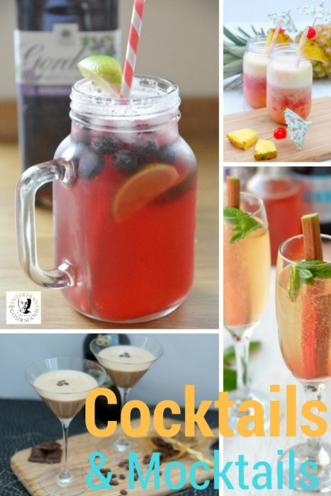 Cocktails and Mocktails : Recipe Round Up