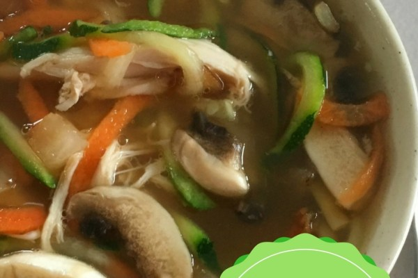 Chicken Vegetable Noodle Soup