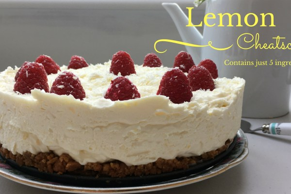 Lemon Cheatscake
