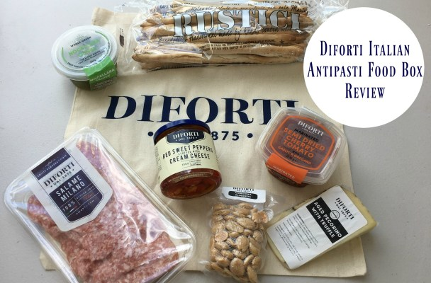 Diforti Gourmet Classic Antipasti Selection Box #Review