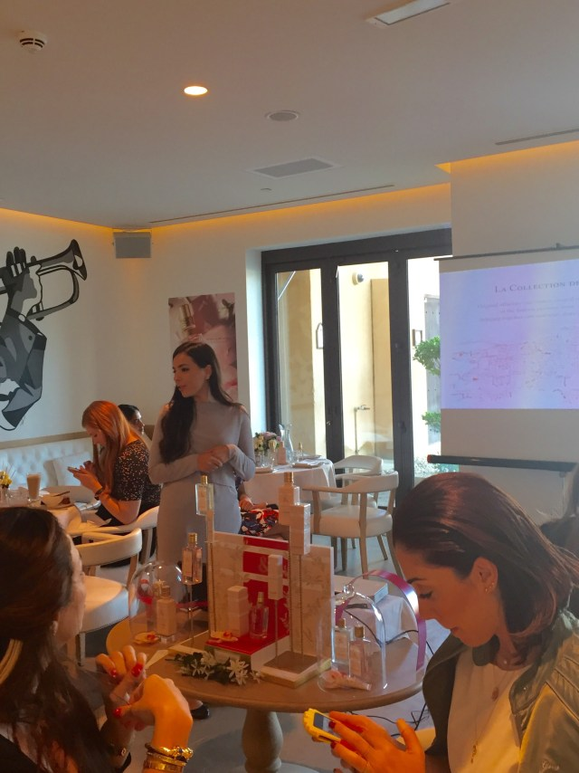 loccitane launch presentation