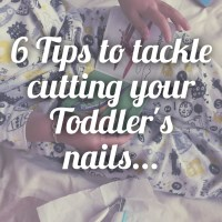 6 Tips to tackle the Nail Cutting battle with your Toddler...