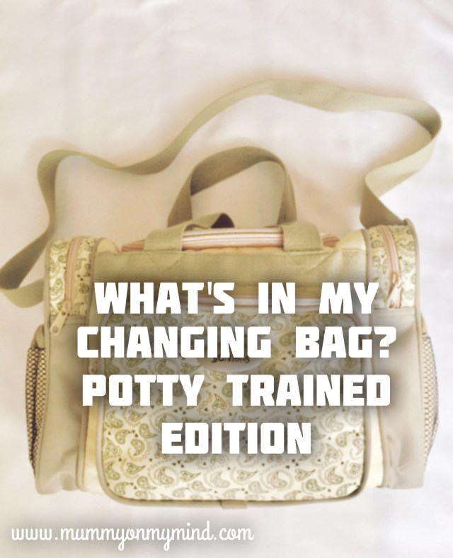 changing bag potty trained mummyonmymind