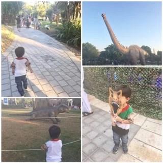 Dubai garden glow family mummyonmymind dinosaur park