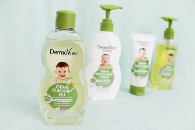 Dermoviva baby Olive Oil Range mummyonmymind