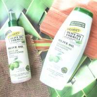 Palmer's Olive Oil Formula Shampoo and Leave in Conditioner - Review...