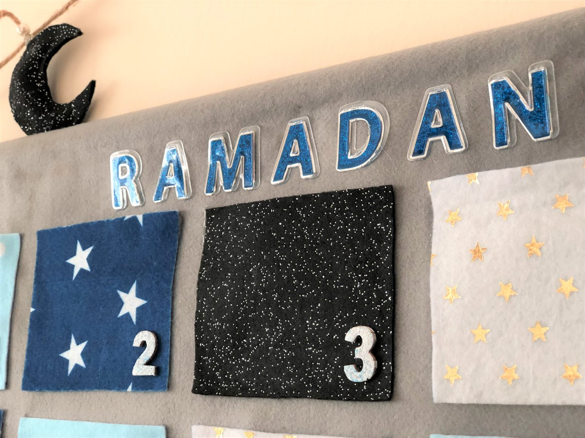 How to create a Ramadan Countdown Calendar: DIY Photo Tutorial